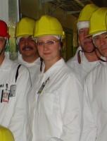 Tatiana Kalenteeva op haar werk