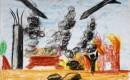 Expositie tekeningen uit Gaza maakt museum nerveus