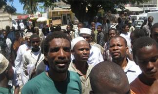 Anti homo demonstratie in Kenya