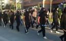 Fascistische Gouden Dageraad vecht met politie