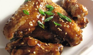 Honey Soy Glazed Chicken Wings - TheDeliciousLife