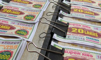 Lottery Tickets - Trilok  Rangan