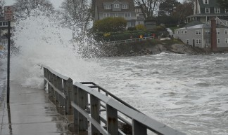 Hurricane Sandy & Marblehead [Front Street 9] - Brian Birke
