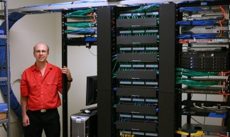 Servers, switches, Chris, and such - Mark's Postcards from Beloit