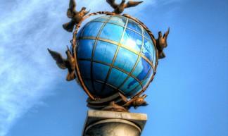 Wishes for the New Year ~ Peace Around the Globe (HDR) - Matt Shalvatis