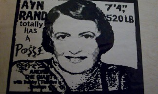 Ayn Rand Totally Has A Po$$e - Scott Beale