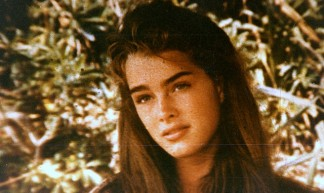Brooke Shields (Microscopic photo of original celluloid) - an0nym0n0us