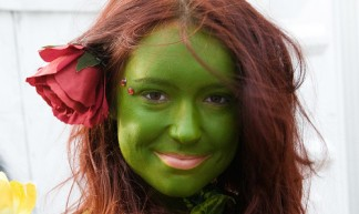 Groen gezicht (foto: flickr/Hans Splinter)