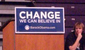 Obama Change - Dan Patterson