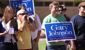Gary Johnson supporters - Gage Skidmore