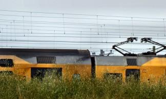 trein op zomervakantie - Gerard Stolk