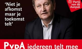 Eberhard van der Laan - postercampagne GR2010 - Partij van de Arbeid