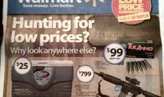Walmart gun control - Ted Swedenburg