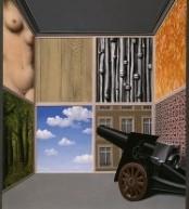 René Magritte Op de drempel van de vrijheid