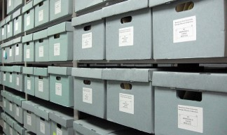 Archives' stacks - Anne G