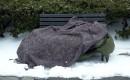 Daklozen ondergesneeuwd