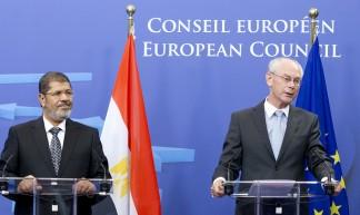 President Morsi with President Van Rompuy - European External Action Service