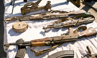 Weapons Haul Seized By Troops in Afghanistan - UK Ministry of Defence