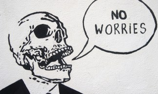 No Worries - Dublin Street Art - William Murphy