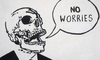 No Worries - Dublin Street Art - William Murphy