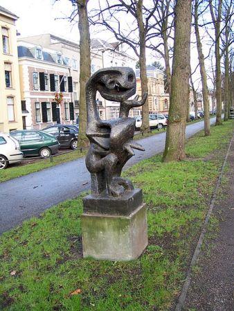 cc Wikimedia Commons Lotti van der Gaag De Denker 1951
