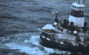 Olieboorschip van Shell, Kulluk, in Noordpoolgebied op drift geraakt
