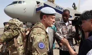Advance party of EUTM Mali arrives in Bamako - European External Action Service