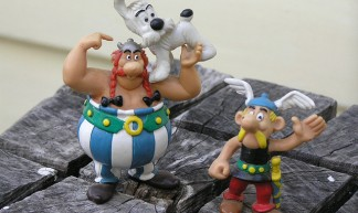 Asterix & Obelix with Dogamatix - Clare Snow