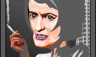 Ayn Rand - DonkeyHotey
