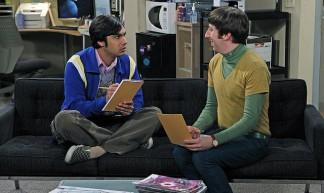 The Big Bang Theory set - NASA Webb Telescope