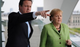 Prime Minister and Chancellor Merkel - Number 10
