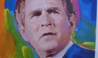 President George W. Bush Painting - Preston Kemp