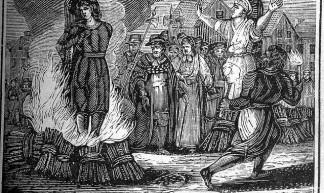 Witch Burning - Robert Benner