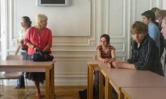 Aangekomen bij het Institut Néerlandais - bkbinfrankrijk