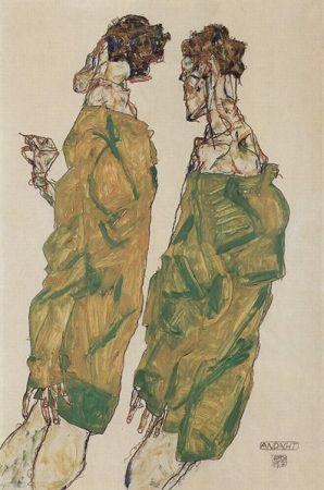 cc Wikimedia Commons Egon Schiele Devotion