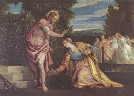 cc Wikimedia Commons Paolo Veronese Noli me tangere