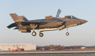 Joint Strike Fighter makes vertical landing - Marines