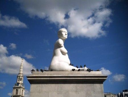 cc Wikimedia Commons Fourth plinth Trafalgar Square London geograph.org.uk