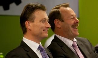 staatssecretaris Zijlstra en Hans van der Vlugt - Kennisland