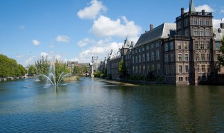 Binnenhof parliament complex in The Hague, Netherlands - Mike McGuff
