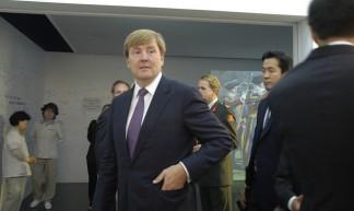 Visit of Willem-Alexander, Prince of the Netherlands - Swiss Pavilion