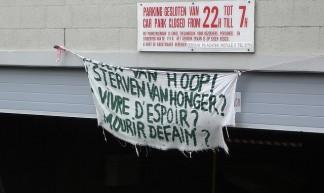 Hongerstaking VUB dag 52 - Hannes De Geest