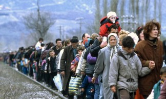 Kosovo Refugees - United Nations Photo