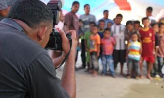 Maluku Photo Club op Ambon aan het werk