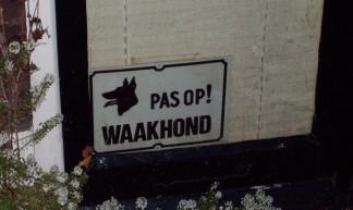 Pas Op! Waakhond - David Boudreau