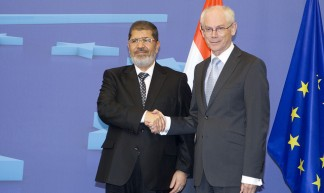 President Morsi meets EU Council President, Herman Van Rompuy - European External Action Service