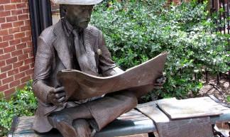 """The Newspaper Reader"" - John"