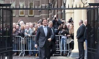 Rutte op weg naar het Torentje - Minister-president Rutte