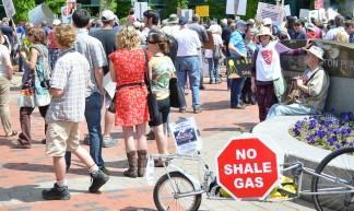 Moncton Anti-Fracking Protest - Stephen Downes