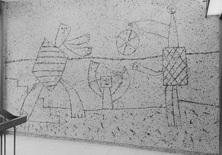 cc commons.Wikimedia.org Sandblasted relief by Picasso